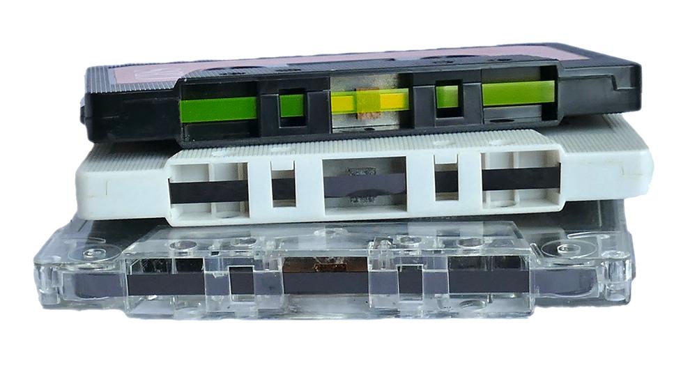 C-kasetteja (Kuva: Pixabay, CC0 Public Domain)